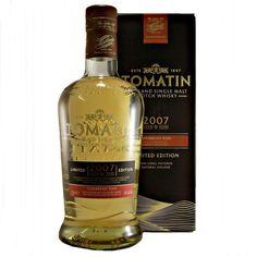 Tomatin 2007 Caribbean Rum Cask Finish Highland Single Malt Whisky available to buy online at specialist whisky shop whiskys.co.uk Stamford Bridge York