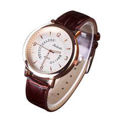 >> Click to Buy <<  Reloj 2017 New Design Bestselling Leisure Clock Watch Quartz Leather Analog Wrist Watch  17feb10 #Affiliate