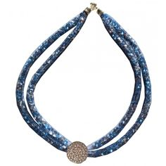Chaton Mesh and Diamante Spacers: Makes necklace and bracelets Available BLUE & GOLD - from Crafter's Companion UK