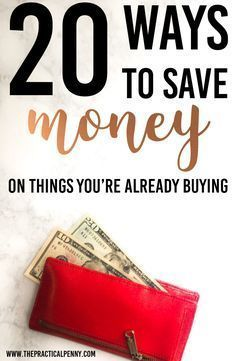 Cutting expenses is a critical part of balancing your budget! It's not always easy to save money on things you're already buying. Here are 20 Ways to Save! Save Money On Groceries, Ways To Save Money, Money Tips, Money Saving Tips, How To Make Money, Cash Money, Money Hacks, Money Fast, Living On A Budget