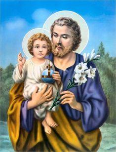 St. Joseph | www.saintnook.com/saints/josephofbethlehem | Saint Joseph | St. Joseph's Church, Powai