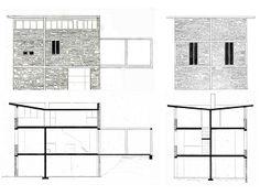 Stone House, Tavole, Italy; Project 1982, realization 1985-1988