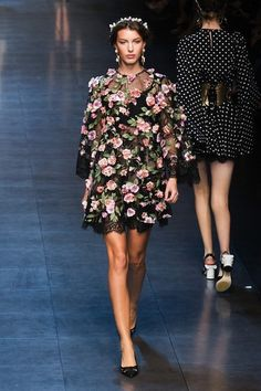 Dolce and Gabbana Spring 2014 -- Milan Fashion Week runway show