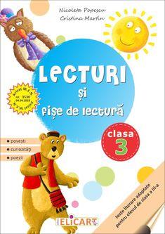Clasa a III-a : Lecturi şi fişe de lectură. Clasa a III-a Cristina Martin, Martini, Winnie The Pooh, Disney Characters, Fictional Characters, Reading, Pooh Bear, Martinis, Disney Face Characters