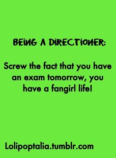 usually i forget the exam anyways, so busy fangirling