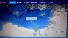 @happycamperpizz & @stonebakeovenco Gwyneth is on board 'YM Wind' Yang Ming container ship. Thanks to @MarineTraffic we can track her progress! Latitude / Longitude:  33.29314° / 29.67616°   #pizza #Caravan #australia