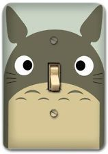 Cute Totoro Cartoon Metal Switch plate Wall Cover Lighting Fixture Decor SP742