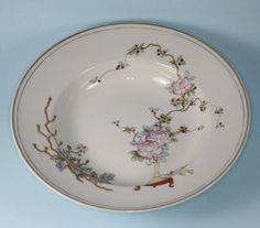 Antique Nippon Bowls Chrysanthemums Hand Painted by PastSplendors