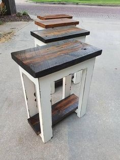 Simply Rustic Barnwood Nightstand - May 11 2019 at