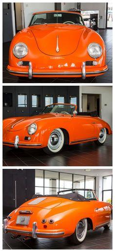 Rare 1955 Porsche 356 #ThrowbackThursday