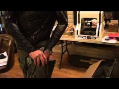 Attaching foam armor to your undersuit - YouTube