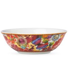 Lenox Melli Mello Eliza Stripe Collection Fruit Bowl, Exclusively available at Macy's