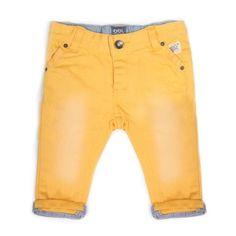Beebielove Woven Pants Geel