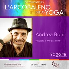 Andrea Boni ci parlerà di meditazione e ci guiderà in una dolcissima pratica della domenica pomeriggio. Andrea è un insegnante certificato Anusara® Yoga, pratica la meditazione dall'età di 13 anni. http://blog.yogare.eu/eventi/