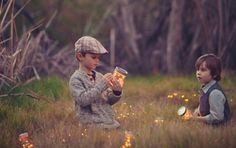 firefly catching