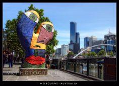 "Australian mosaic artist Deborah Halpern's 1992 ""Ophelia"" sculpture!"