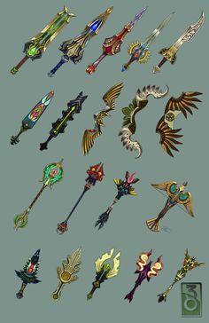 38 Studios Weapons