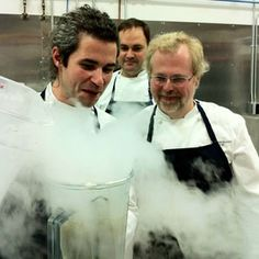 """Course 25: """"Milk Shake"""" - 30 Courses of a Nathan Myhrvold """"Modernist Cuisine"""" Dinner"""