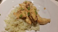 Hungry Hubby And Family: COHEN DIET | Chicken in Mustard Sauce with Cauliflower Rice