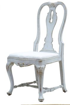 Rare Set Of 12 19th Century Queen Anne Influenced Painted Swedish Dining  ChairsQueen Anne Dining Chairs in  anniesloanhome Emile  chalkpaint with  . Old Dining Chairs Leicester. Home Design Ideas
