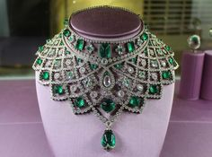 When it comes to #Faberge, diamonds and emeralds are definitely a girl's best friend…