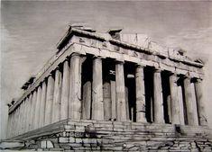 Acropolis Parthenon by Y-LIME