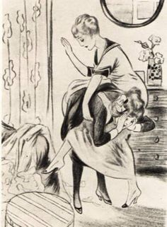 femdom classic spanking