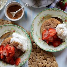 Snickerdoodle Strawberry Shortcake