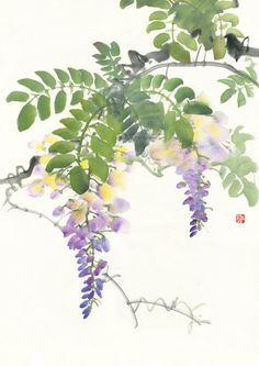 아트담 갤러리 그림 선물 고급스러운  등나무 02 아트캔버스(ADWF20C)