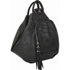 Convertible Backpack  www.justjaneboutique.com $75  #black #backpack #handbag