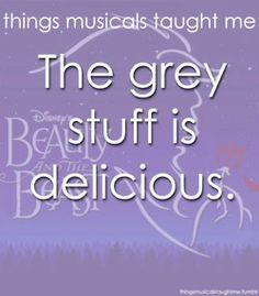 things musicals taught me Beauty and the beast - Google Search