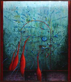 ERYDAN, 140x120 cm, mixed media Bratislava, Mixed Media, Gallery, Inspiration, Painting, Art, Biblical Inspiration, Art Background, Roof Rack