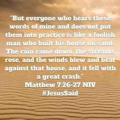 #JesusSaid #SeekJesus #SeekTheTruth