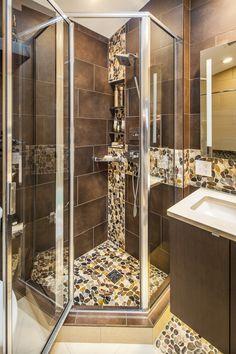 dramatic bathroom designed by mary crystal kitchen bath