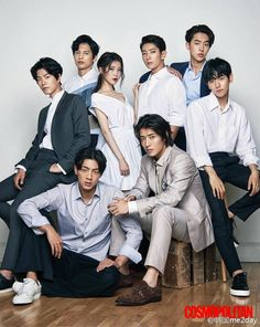 They all look so different with normal hair... Scarlet Heart cast