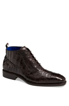 Free shipping and returns on Mezlan 'Serra' Crocodile Boot at Nordstrom.com. Fine broguing details an exquisite boot handcrafted from lustrous crocodile leather and injected with a memory foam-cushioned insole.