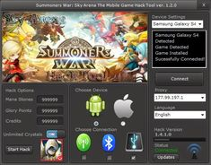 Summoners War Sky Arena Hack (Android/iOS) - HacksBook http://www.hacksbook.com/summoners-war-sky-arena-hack-cheats