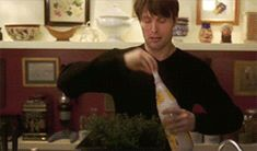Gif* Unrelated, but this wouldn't happen in Hannibal's kitchen now XD