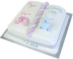 stylish christening cakes - Google Search