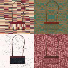Variaciones sobre Wooden Series 02. Bolsos ya disponibles en nuestra web www.vinilafabrics.com
