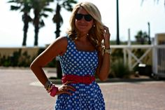 Just Dandy by Danielle: Outfit | Big Polka Polka
