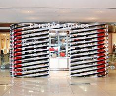Aigner retail pop up shop