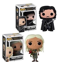 Game of Thrones Pop Vinyl Figure Bundle set Daenerys Targaryen and Jon Snow Pop http://www.amazon.com/dp/B00TBVDUME/ref=cm_sw_r_pi_dp_00umvb0BP8CN9