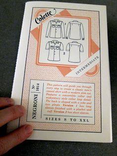 male pattern boldness: Men's Shirt Sew-Along 1 -- Let's get started!  Shirt making tutorial