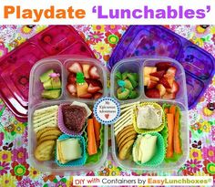 My Epicurean Adventures: Play Date Lunchables
