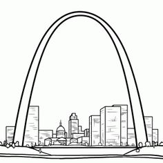 On Pinterest Statue Of Liberty Coloring Pages And Gateway Arch
