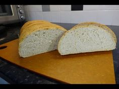 This is a lovely soft white bloomer loaf with lots of tasty cheddar cheese mixed into the dough to give a delicious sandwich bread. It is just so tasty and t. Grated Cheese, Cheddar Cheese, Delicious Sandwiches, Bread Board, White Bread, Tray Bakes, Biscuits, Baking, Recipes