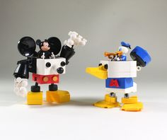 "My wife needs to make me this Donald Mecha stat. ""Donald Robo"" by LEGO DOU Moko: Pimped from Flickr"