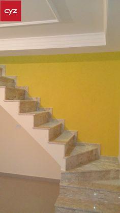 Grafiato amarelo. Trabalho de Daniel Gomes de Souza - (41)9620-7088.