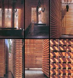 Zumthor. Pabellón suizo. Expo de Hanover 2000